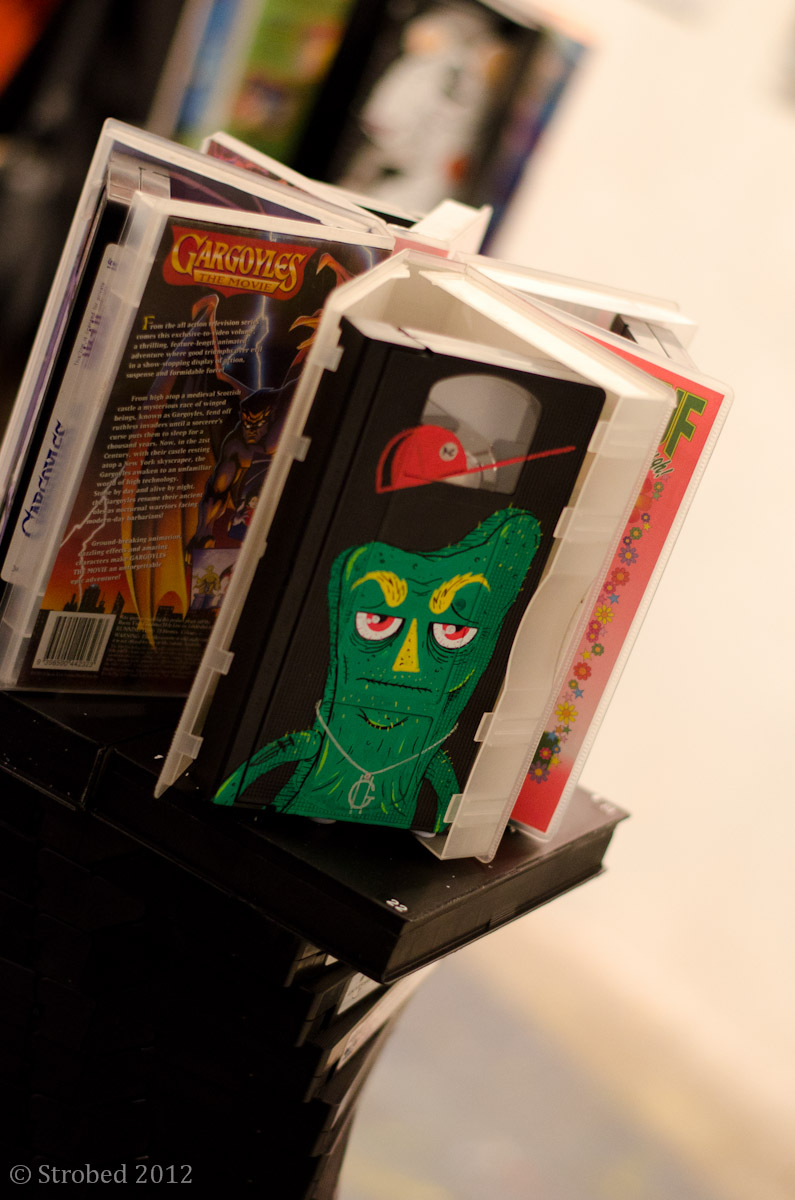 Gumby by Houl - an artwork from old VHS taps